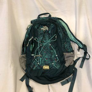 The North Face Blue Crystal Backpack
